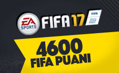 FIFA 17 Ultimate Team 4600 FIFA Points