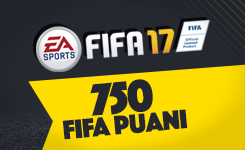 FIFA 17 Ultimate Team 750 FIFA Points